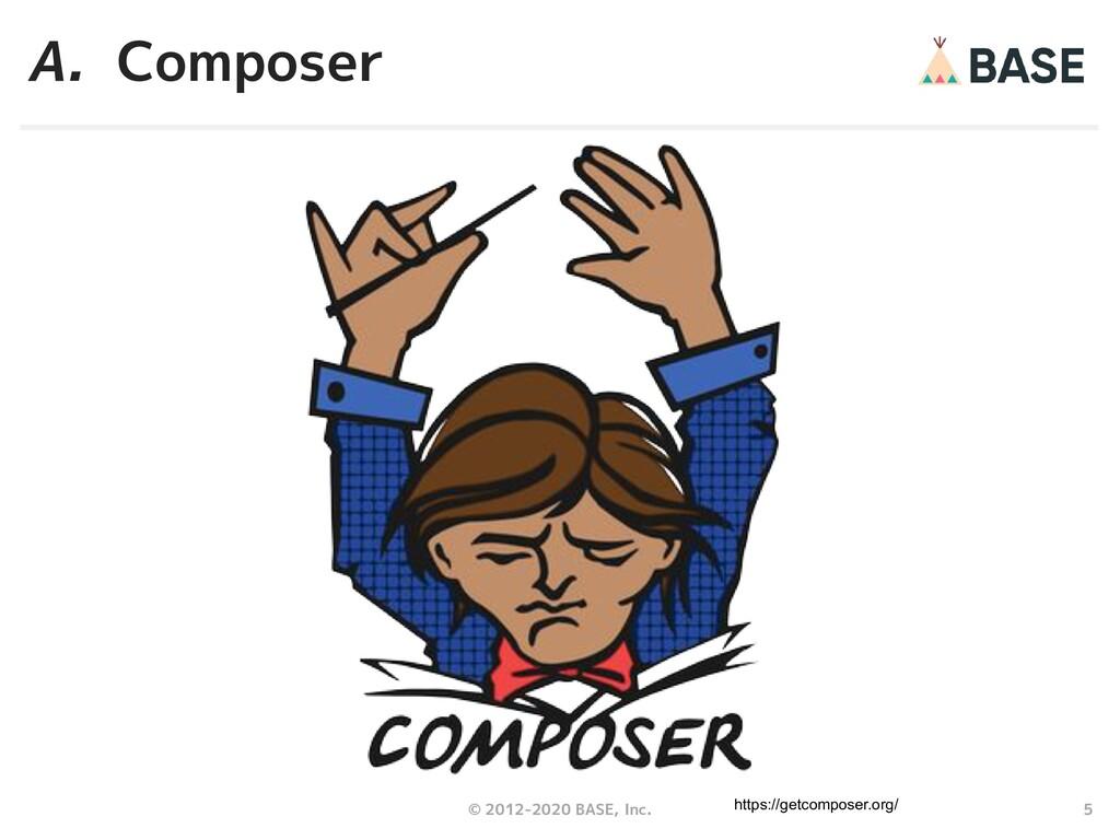 5 © 2012-2020 BASE, Inc. A. Composer https://ge...