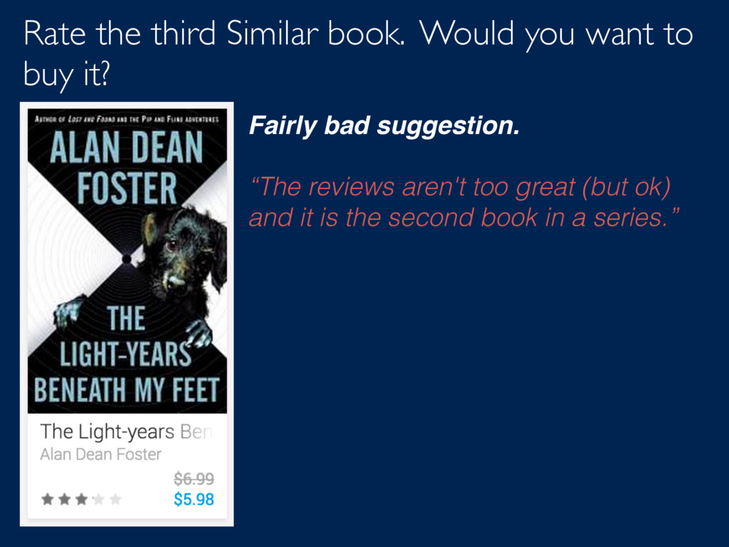 Rate the third Similar book. Would you want to ...