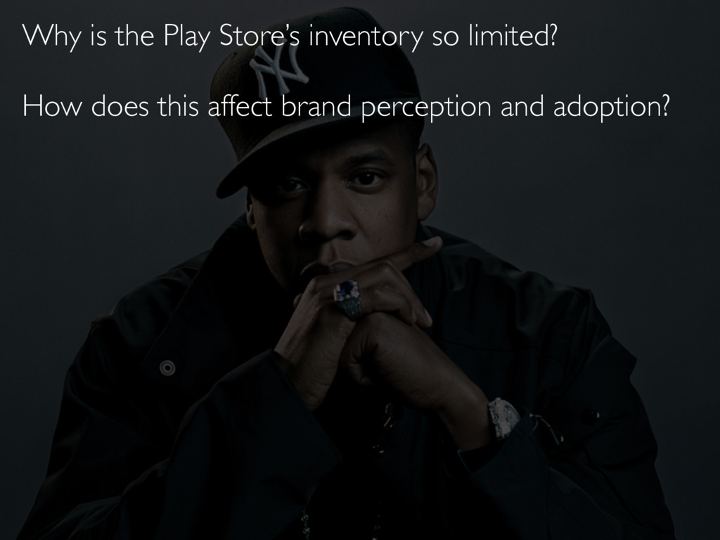 Why is the Play Store's inventory so limited? H...