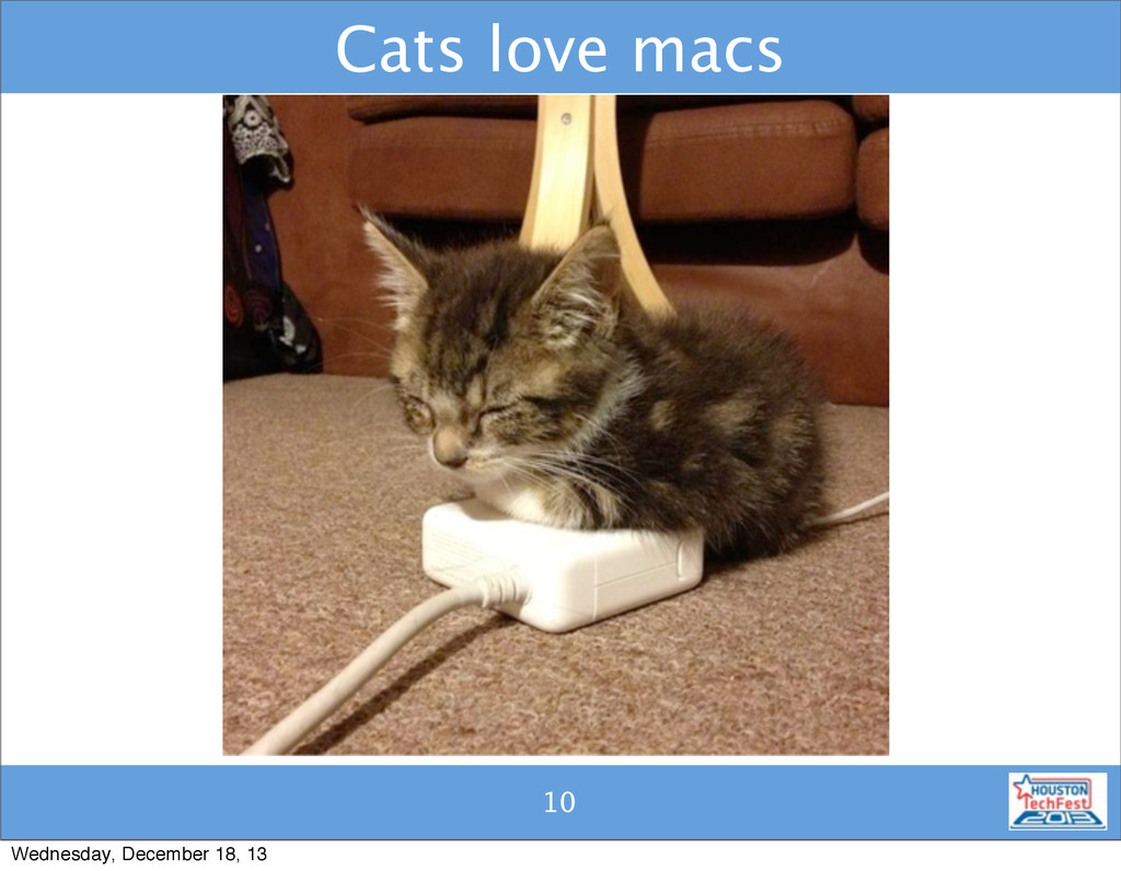 10 Cats love macs 10 Wednesday, December 18, 13