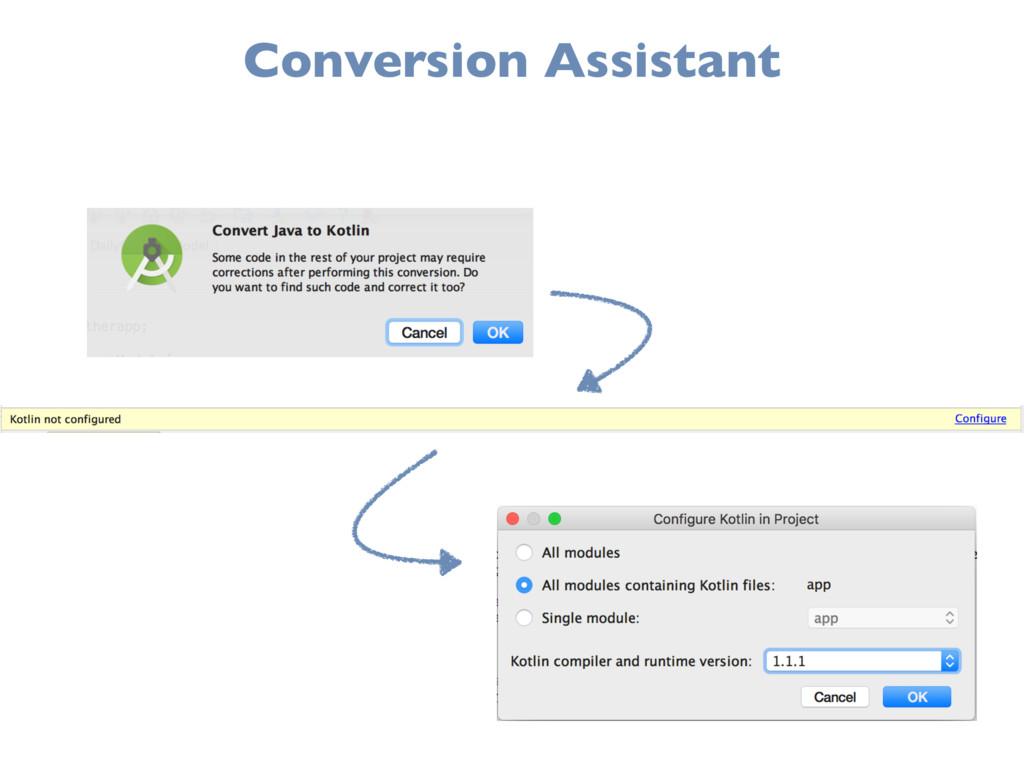 Conversion Assistant