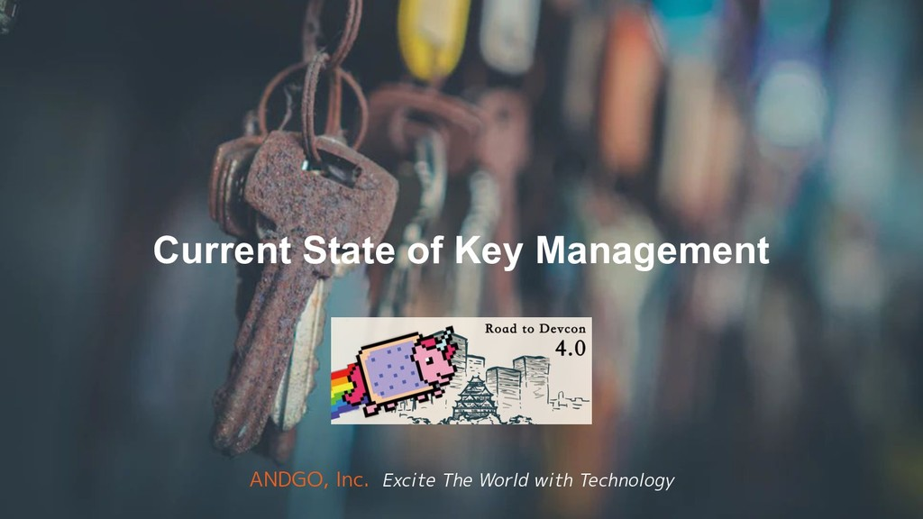 Current State of Key Management ANDGO, Inc. Exc...