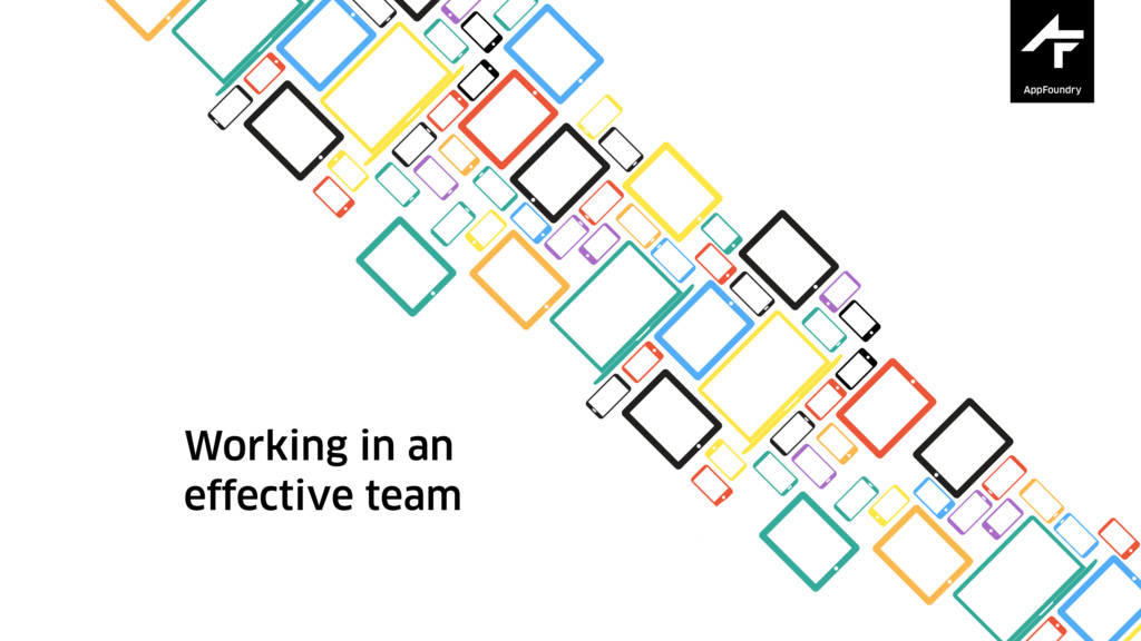 Working in an effective team