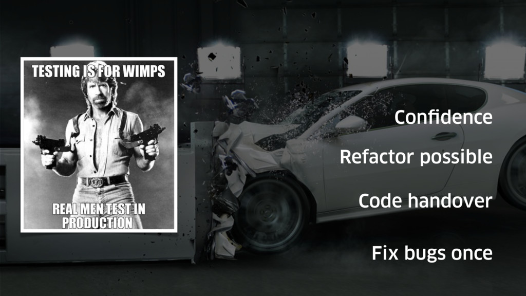 Confidence Refactor possible Code handover Fix ...