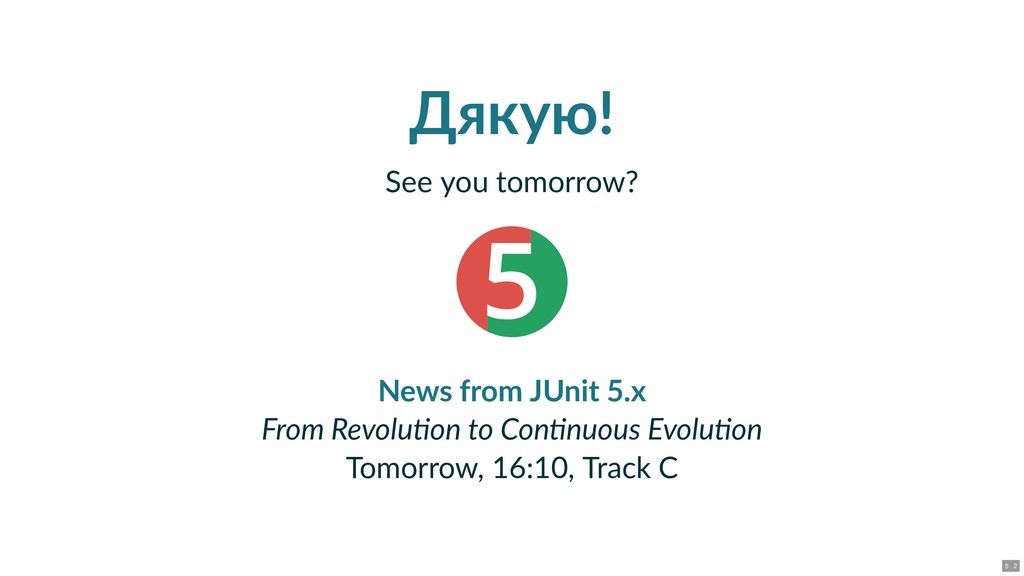 Дякую! See you tomorrow? 5 From Revolu on to Co...