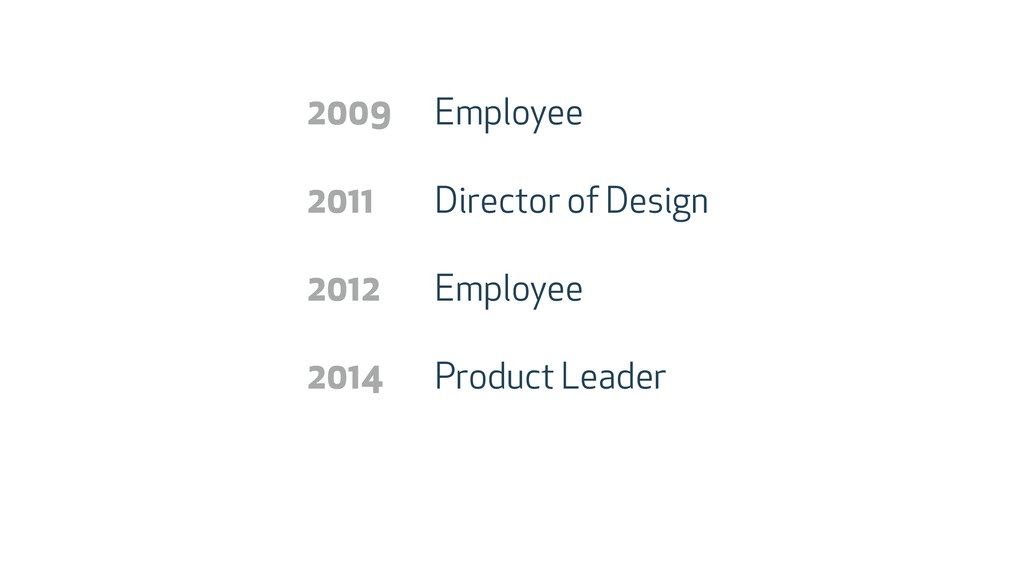 Employee Director of Design Employee Product Le...