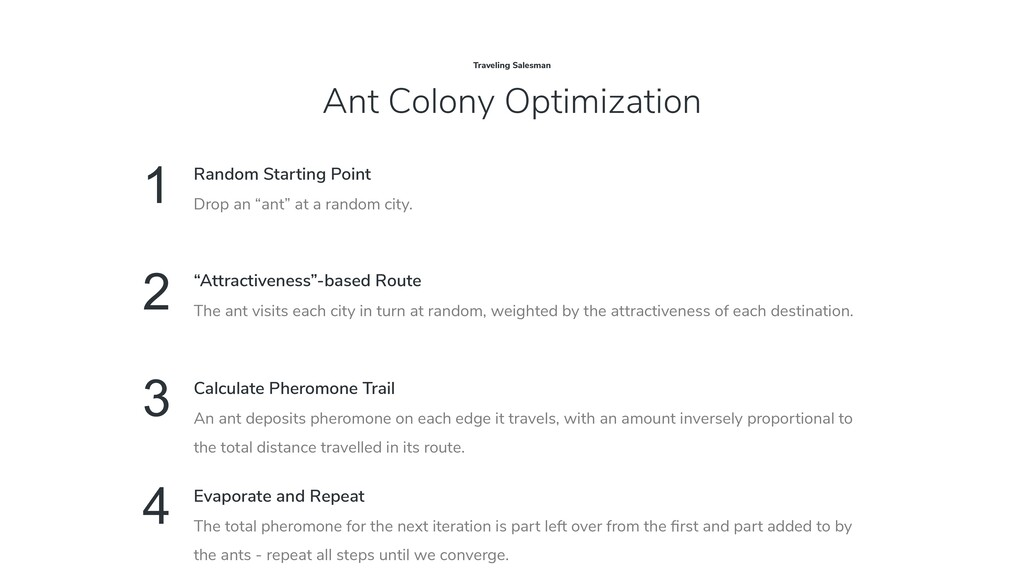 Ant Colony Optimization Traveling Salesman 1 Dr...
