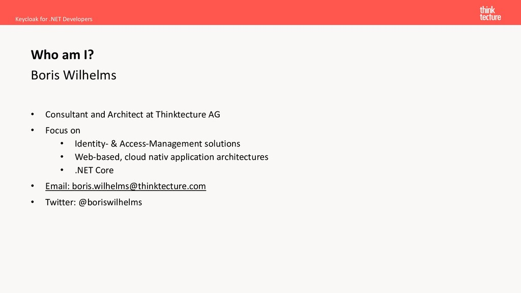 Boris Wilhelms • Consultant and Architect at Th...