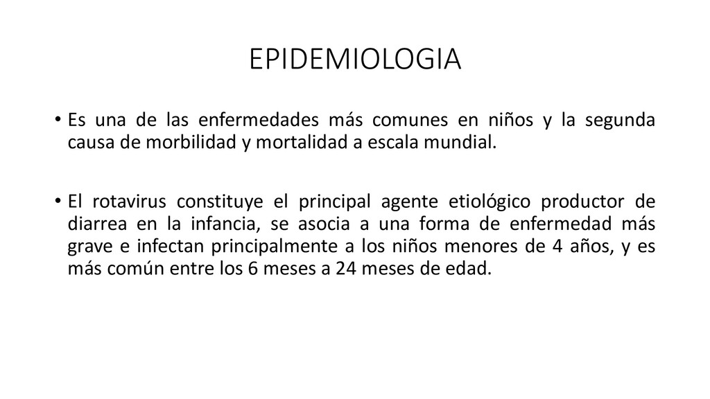 EPIDEMIOLOGIA • Es una de las enfermedades más ...