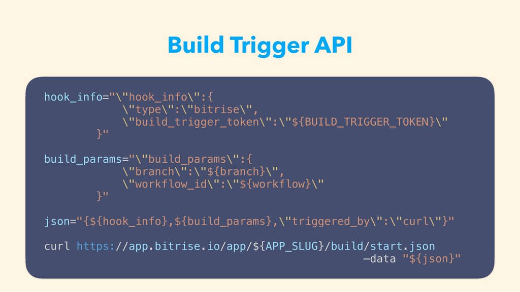 Build Trigger API • slack͔Βhubotܦ༝ͰϏϧυΛ࣮ߦ hook_...