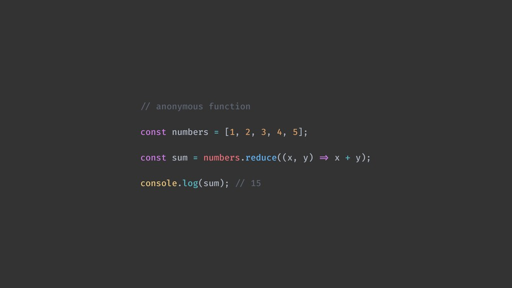 !// high-order function const add = (x, y) !=> ...