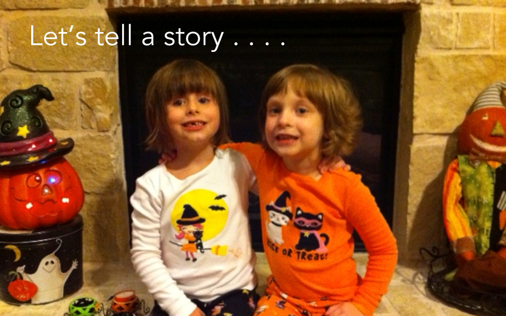© Jeffrey Davidson, 2013 Let's tell a story . ....