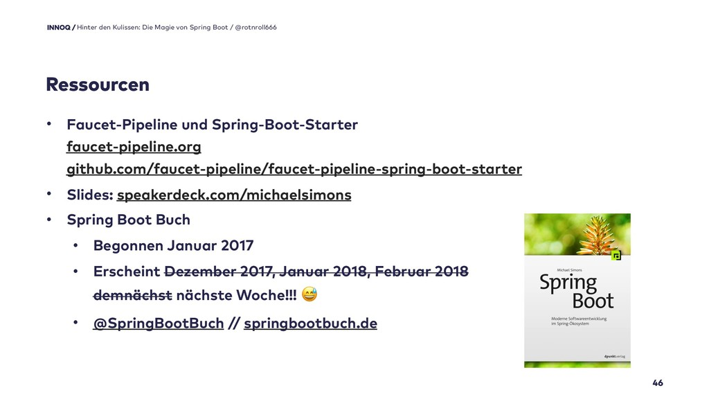 46 • Faucet-Pipeline und Spring-Boot-Starter f...