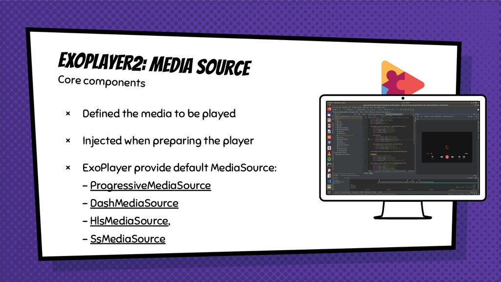 × Defined the media to be played × Injected when...