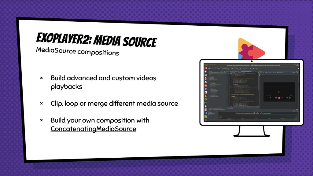 × Build advanced and custom videos playbacks × ...
