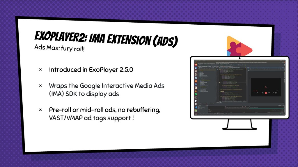 × Introduced in ExoPlayer 2.5.0 × Wraps the Goo...