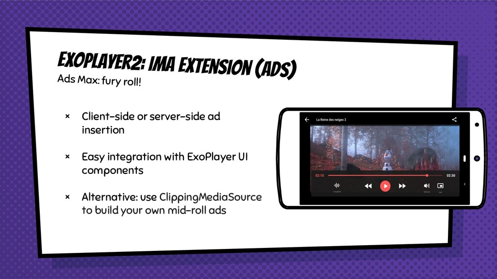 × Client-side or server-side ad insertion × Eas...