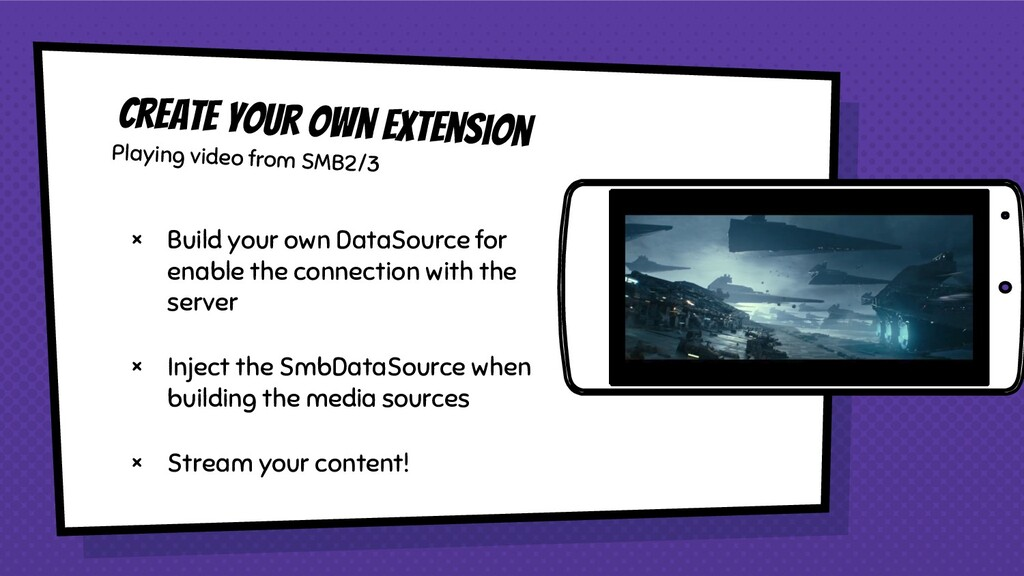 Create your own extension × Build your own Data...