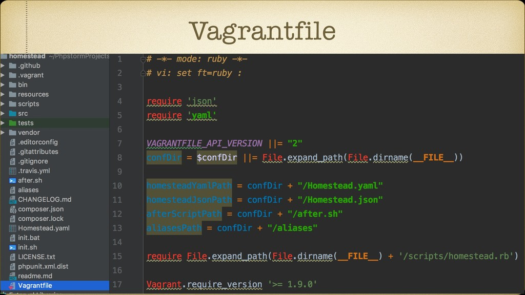 Vagrantfile