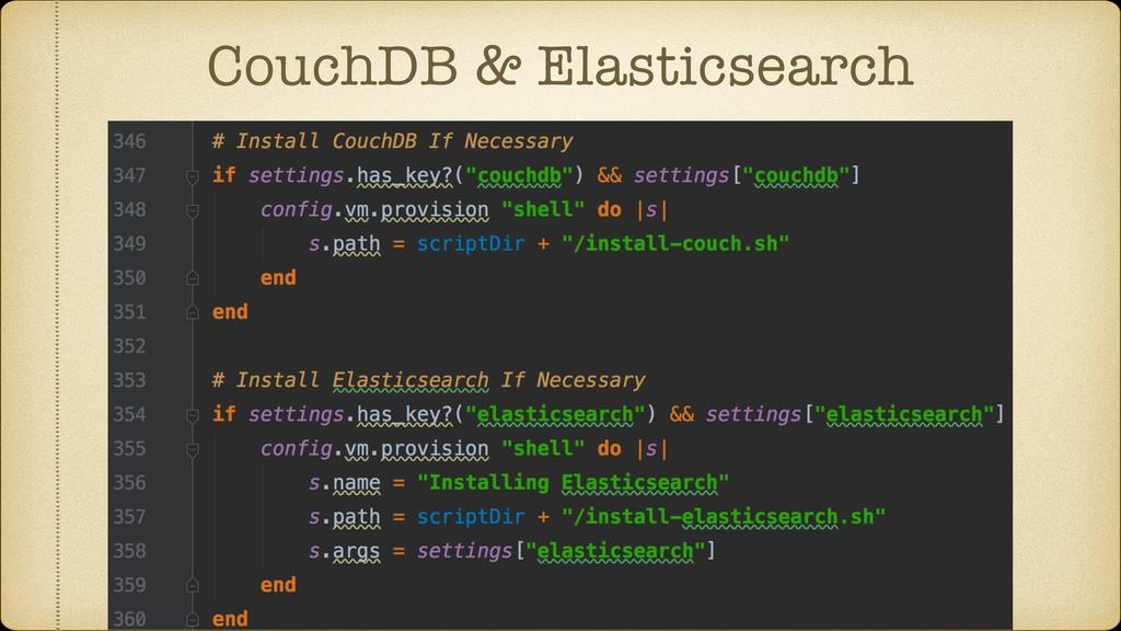 CouchDB & Elasticsearch