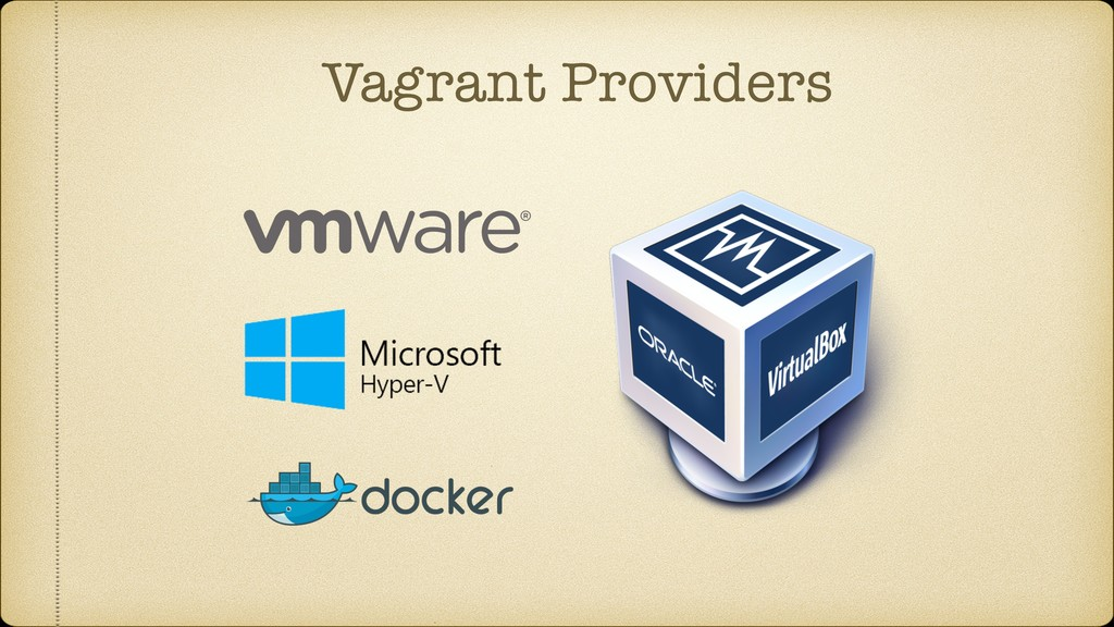 Vagrant Providers