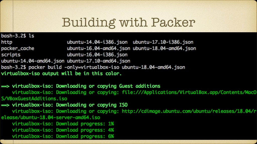 Building with Packer