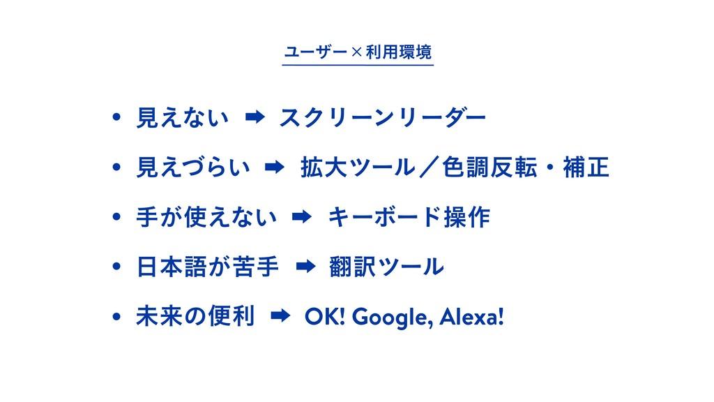 ະདྷͷศརɹɹOK! Google, Alexa! ख͕͑ͳ͍ɹɹΩʔϘʔυૢ࡞ ຊޠ͕ۤ...