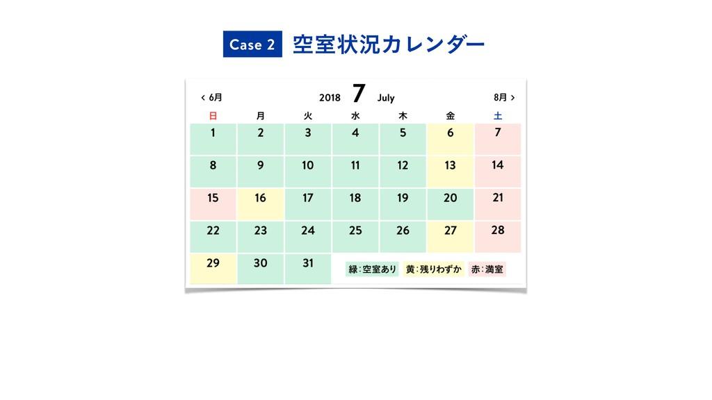 ۭࣨঢ়گΧϨϯμʔ Case 2