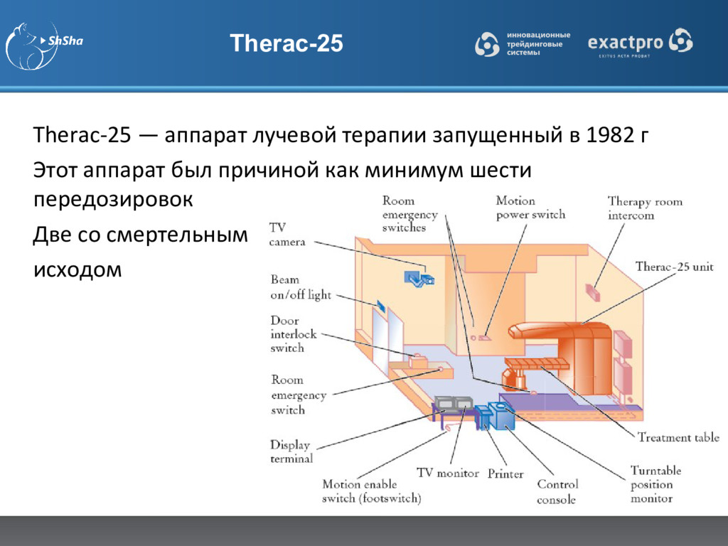 Therac-25 Therac-25 — аппарат лучевой терапии з...