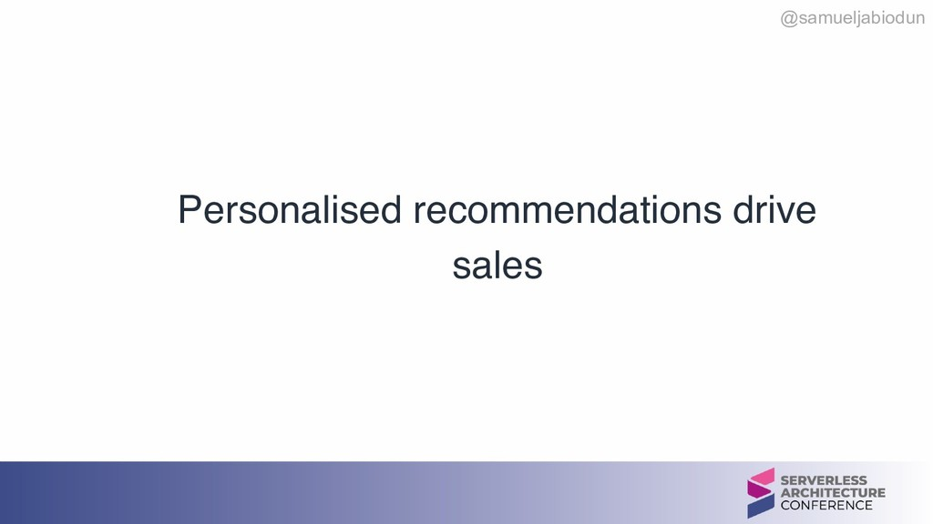 @samueljabiodun Personalised recommendations dr...