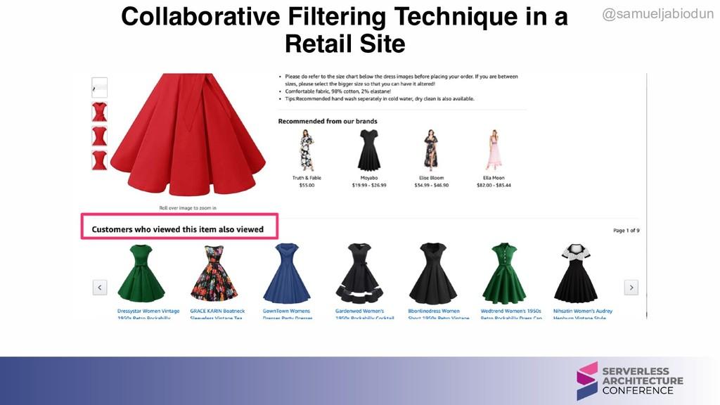 @samueljabiodun Collaborative Filtering Techniq...