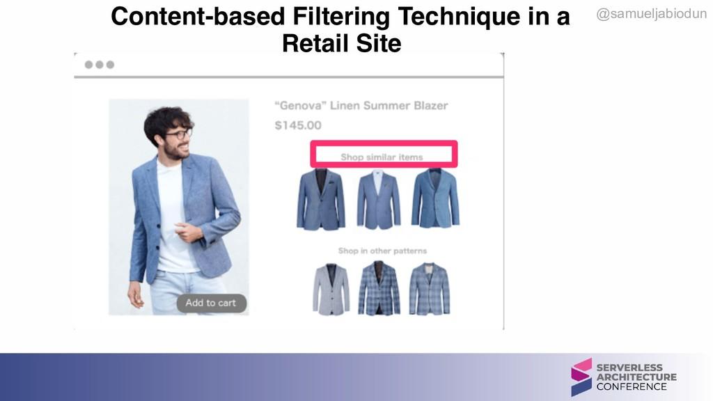 @samueljabiodun Content-based Filtering Techniq...