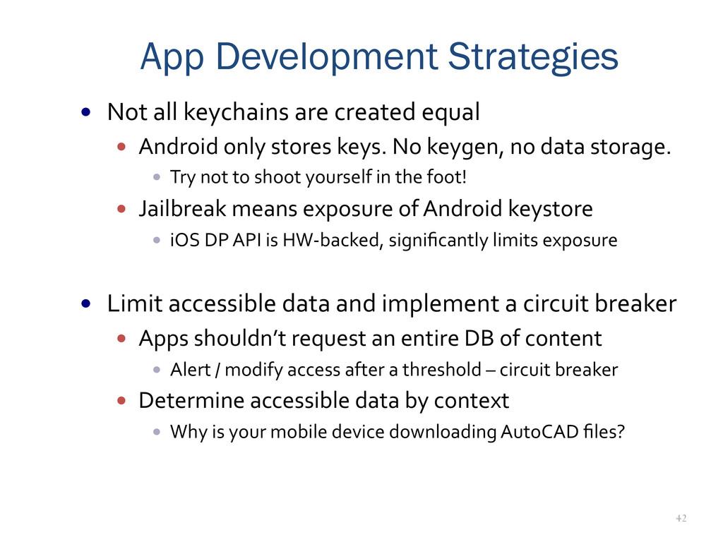 42 App Development Strategies — Not all ...