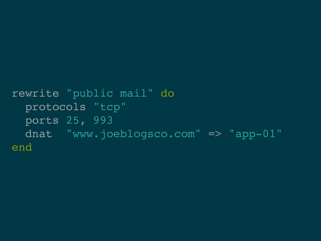 "rewrite ""public mail"" do protocols ""tcp"" ports ..."
