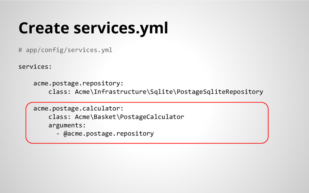 # app/config/services.yml services: acme.postag...