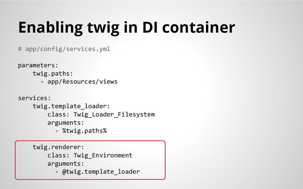 # app/config/services.yml parameters: twig.path...