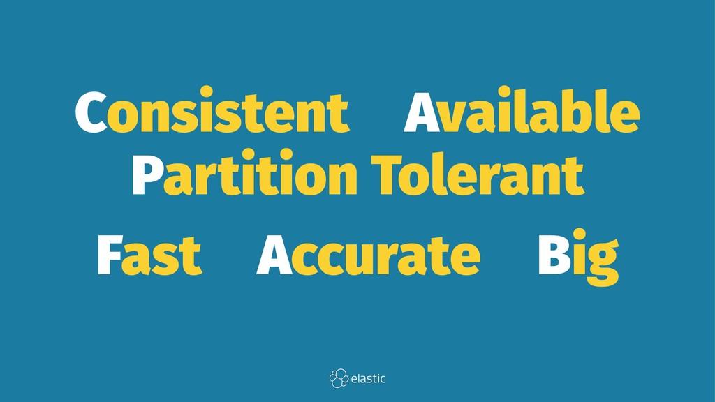 Consistent̴Available̴ Partition Tolerant Fast̴A...