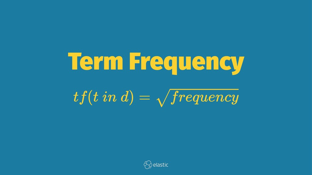 Term Frequency