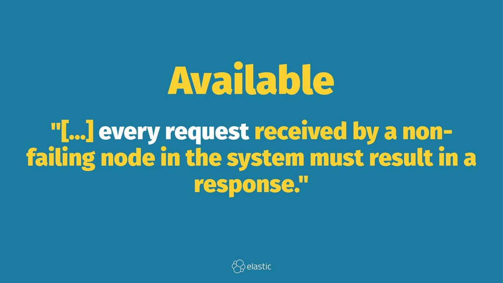 """Available """"[...] every request received by a no..."""