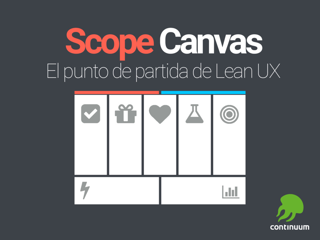 Scope Canvas El punto de partida de Lean UX