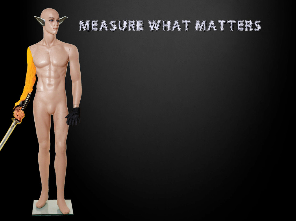 MEASURE WHAT MATTERS MEASURE WHAT MATTERS
