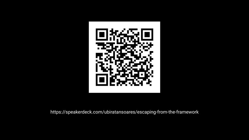 https://speakerdeck.com/ubiratansoares/escaping...
