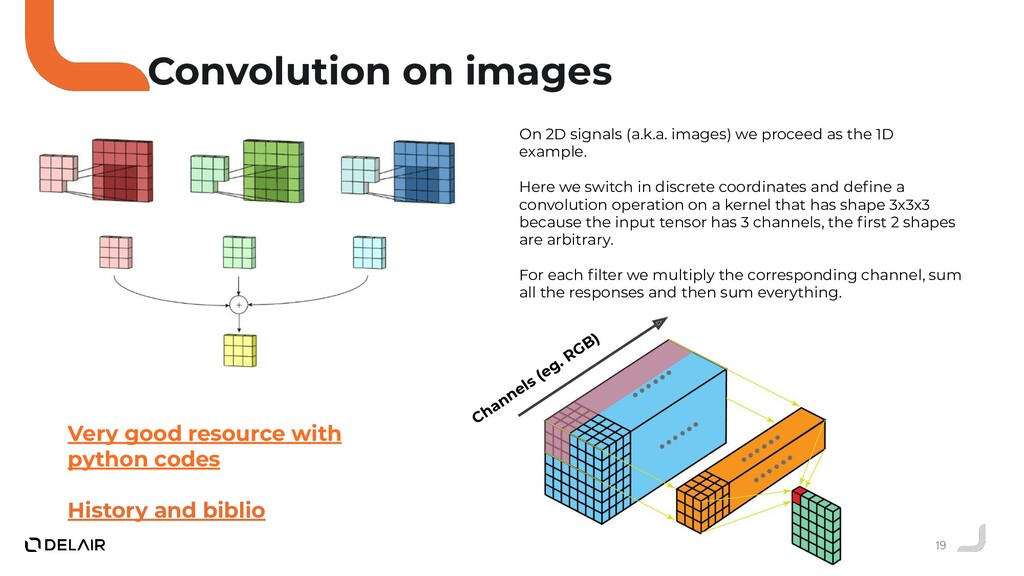 19 Convolution on images On 2D signals (a.k.a. ...