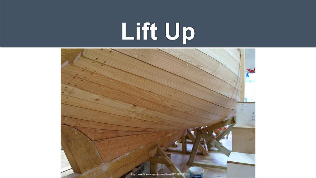 Lift Up http://www.flickr.com/photos/sarahhoss/8...