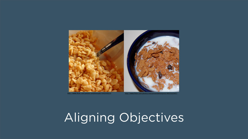 Aligning Objectives http://www.flickr.com/photos...