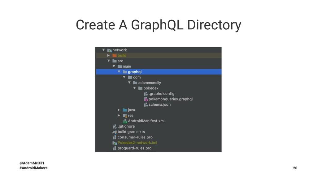 Create A GraphQL Directory @AdamMc331 #AndroidM...