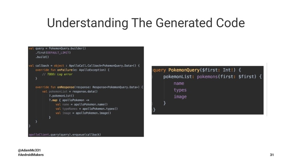 Understanding The Generated Code @AdamMc331 #An...