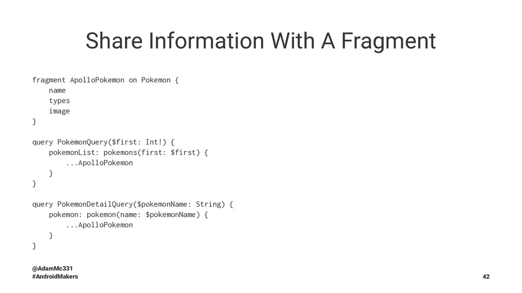 Share Information With A Fragment fragment Apol...