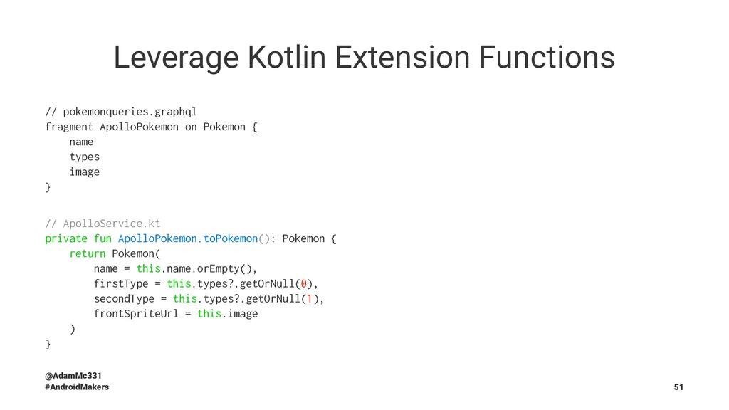 Leverage Kotlin Extension Functions // pokemonq...