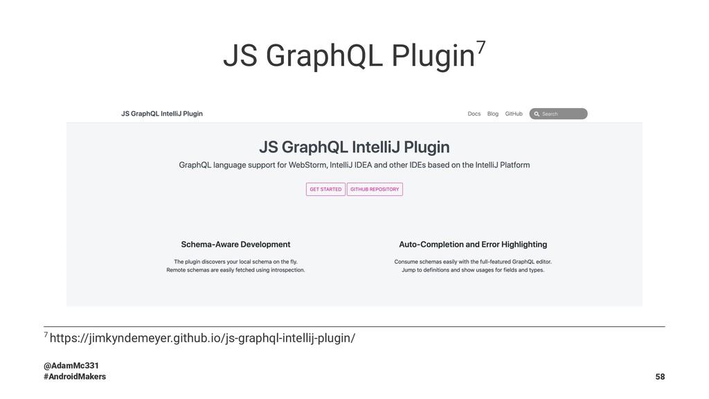 JS GraphQL Plugin7 7 https://jimkyndemeyer.gith...